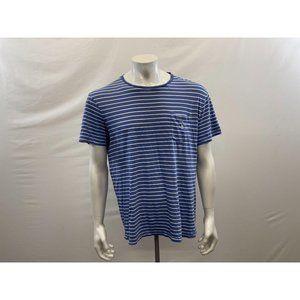Polo Ralph Lauren Men's Blue Striped Causal Tee